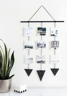 Beautiful Polaroid Photos Display Idea (41)