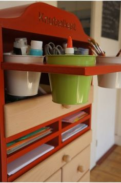 Handy storage for your arts & crafts material