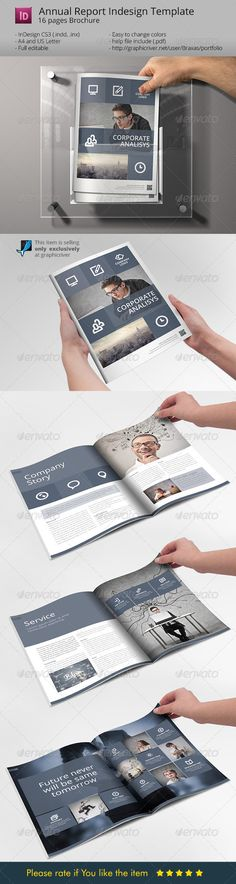 System Indesign Brochure Template - Sharp  Clean :  Check out this great #graphicriver item 'System Indesign Brochure Template - Sharp  Clean' http://graphicriver.net/item/system-indesign-brochure-template-sharp-clean/7220012?ref=25EGY