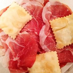 Culatello di Zibello e gnocco fritto - Instagram by _thegirlwiththemostcake