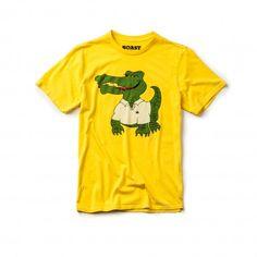 Crocodile Tee in Yellow by #BoastUSA