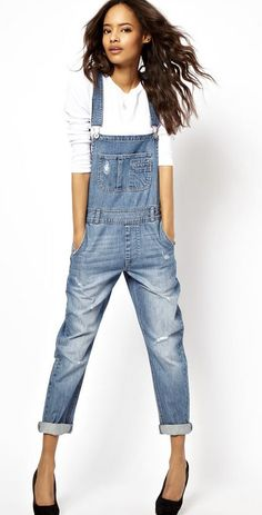 A loose denim overall was basically my everyday uniform as a kid. Would love to have one again... This one: ASOS.