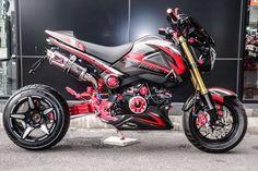 Honda Grom, Minibike, Super Bikes, Cars And Motorcycles, Yamaha, Vehicles, Thailand, Groom, Future