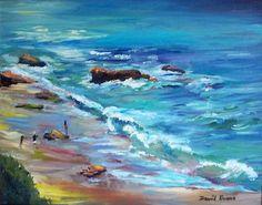 David Evans - Evening Colors - 14 x 11 - Oil