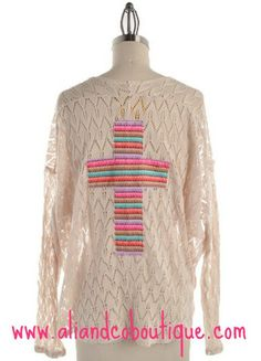 Missy Robertson Crochet Cross Top – aliandcoboutique.com