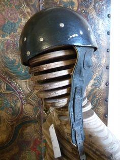 Antique Motorbike Helmet