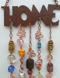 Wind Chime / Suncatcher Housewarming Wedding Gift by LTreatDesigns