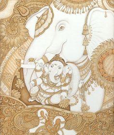 Ganesha and Elephant