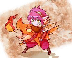 tyrzor:   「Dragon Trainer Tristana」 - league of legends & anime