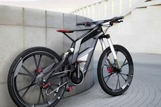 Велосипед Audi.