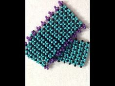 "Seed bead jewelry Video Tutorial: Bracelet- ""Pondo"" Stitch ~ Seed Bead Tutorials Discovred by : Linda Linebaugh Beaded Bracelets Tutorial, Beaded Bracelet Patterns, Seed Bead Bracelets, Seed Bead Jewelry, Jewelry Patterns, Beading Patterns, Beaded Jewelry, Seed Beads, Jewellery"