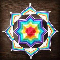 #mandala #chakras #equilibrio #colores #sanacion #meditacion #arte #tejido #yamtra #yamtramandalas