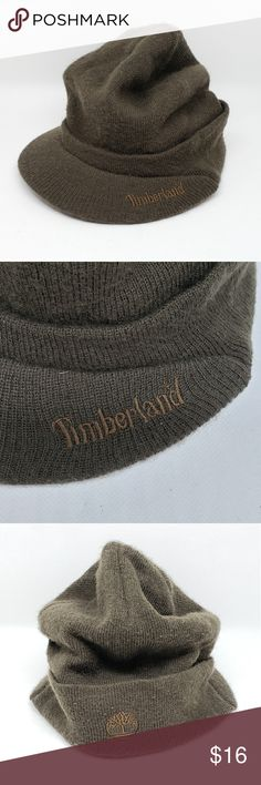 8c5d57564e6 Timberland knit hat with brim Timberland knit hat with brim. In very good  condition