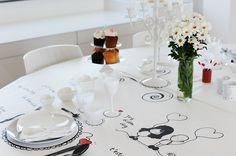 Saint Valentine Table  Dal Blog di maghettastreghetta (www.gikitchen.it - www.maghettastreghetta.it )   #food #recipe #foodblogger #maghettastreghetta #iaiaguardo #gikitchen #illustration #drawing #saintvalentineday