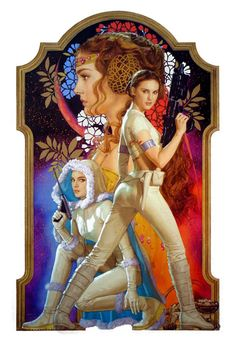 Padme Amidala - Alright, she wasn't from the best films of the series. But I always thought she was way cool.