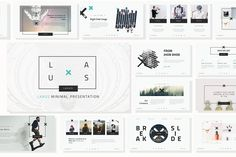Laxus Powerpoint Template Templates **Content Of Product**- Laxus Minimal PowerPoint Presentation- Documentation ( Pages and PDF File by Mikoslide Corporate Presentation, Presentation Design Template, Business Brochure, Business Card Logo, Creative Infographic, Website Themes, Keynote Template, Light In The Dark