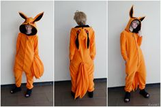Naruto Kurama Kigurumi  (I really really really want this)
