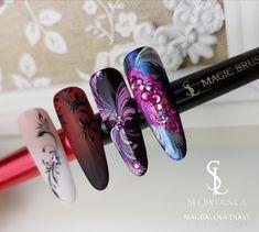Zdobienia wykonane żelami od Słowianki 😍😍😍 #paznokcie #nails #nail #manicure #nailart #hybrydy #szkolenia #kursy #koszalin #słowiankakoszalin #magdalenatraks.