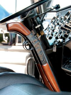 Custom Big Rig Truck Show Rifle Shifter