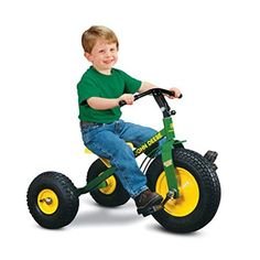 John Deere Heavy Duty Mighty Trike with Air Tires