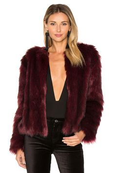 #REVOLVE SNYDER FAUX FUR JACKET | CUPCAKES AND CASHMERE $150