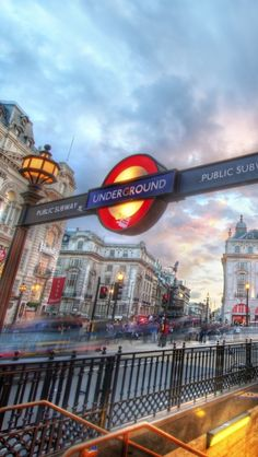London Underground. Our tips for free things to do in London: http://www.europealacarte.co.uk/blog/2013/03/25/free-things-to-do-london/