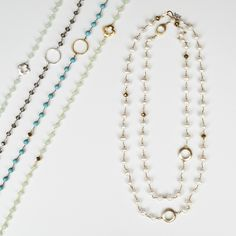 Chain Necklaces Spring 2016 - Collections
