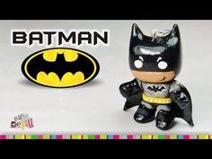 Batman polymer clay tutorial / Batman de arcilla polimérica