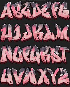 Picture of the graffiti font - Lady Lemonade - # lady # of the .- Bild des Graffiti-Gusses – Dame Lemonade – Picture of graffiti cast – Lady Lemonade – - Graffiti Designs, Graffiti Art, Wie Zeichnet Man Graffiti, Graffiti Alphabet Styles, Graffiti Lettering Alphabet, Tattoo Fonts Alphabet, Graffiti Words, Tattoo Lettering Fonts, Graffiti Characters
