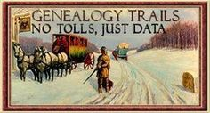 Genealogy Trails - Free genealogical data added by volunteers across the U. S.