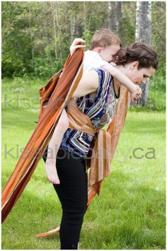 Carey Huber-Thompson Babywearing Consultant and owner of Kissable Baby 199d75c5534