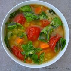 Simple Dish: Zupa Jamiego. Moja ulubiona! #soup