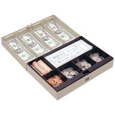 STEELMASTER 221619003 Cash Box with Combination Lock