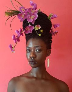 Côte d'Ivoire artist's self-portraits are exquisite pieces of personal discovery through her hair (AFRO-PUNK) Afro Punk, Black Women Art, Beautiful Black Women, Beautiful Eyes, Black Art, Beautiful People, Portrait Inspiration, Character Inspiration, Black Girl Aesthetic