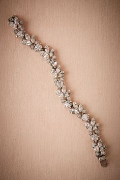 BHLDN - Nerea Crystal Bracelet (Silver) (38926846)