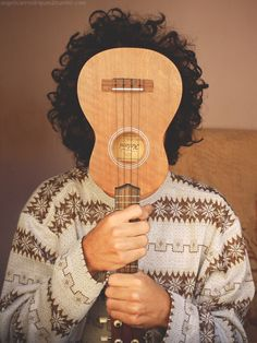 Ukulele music boy hair