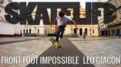 Front Foot Impossible   Tutorial #SKATELIFE   Leo Giacon - http://DAILYSKATETUBE.COM/front-foot-impossible-tutorial-skatelife-leo-giacon/ - Front Foot Impossible   Tutorial #SKATELIFE   Leo Giacon Nesse tutorial, o skatista profissional Leo Giacon mostra os macetes para acertar o Front Foot Impossible, o impossible com o pé da frente.  O vídeo foi gravado no Páteo do Colégio, centro de São Paulo. Encontre-nos: Facebook: http - foot, front, giacon, impossible, skatelife,