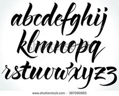 Find Brushpen Alphabet Modern Calligraphy Handwritten Letters stock images in HD and millions of other royalty-free stock photos, illustrations and vectors in the Shutterstock collection. Thousands of new, high-quality pictures added every day. Handwriting Alphabet, Hand Lettering Alphabet, Calligraphy Handwriting, Handwritten Letters, Typography Letters, Brush Letter Alphabet, Modern Calligraphy Alphabet, Cursive, Graffiti Lettering Fonts