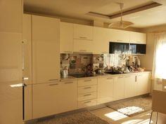 Mobilier bucatarie la comanda de cea mai buna calitatea si la preturi avantajoase. #mobilabucatarie Kitchen Island, Kitchen Cabinets, Mai, Home Decor, Island Kitchen, Decoration Home, Room Decor, Cabinets, Home Interior Design