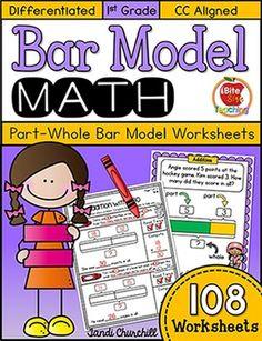 Bar Model Worksheets-Singapore Math