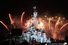 Feux d'artifice du 14 juillet DisneyLand Paris