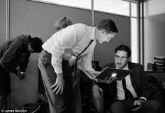 Don Draper with an iPhone? Candid behind-the-scenes photographs capture the stars of Mad Men on and off set | Mail Online