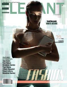 Cover at the Elegant magazine Designer: (trousers) Boska by Eliza Borkowska Photo: Kamil Duszynski  Style: Robert Łosyk Make-up: Anna Akińcza Model: Oktawia @ MILK Assist & retouch: Paul Drozdowski