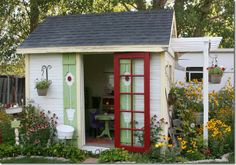 Cutest shed ever!