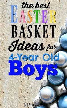 My 3 year old boys easter basket with no candy easter the best easter basket ideas for 4 year old boys negle Images