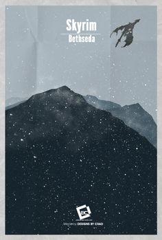 Skyrim by DesignsByChad.