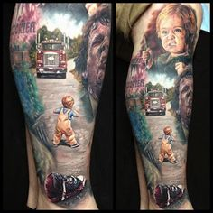 Pet Semetary - Stephen King [Why would someone get this tattooed on themselves??]