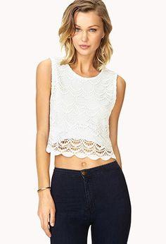 Blusa de crochet | Forever 21 - 2000080725