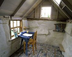 What a fun little room, not a very big #coworking space, but cozy :-) #Pinterest