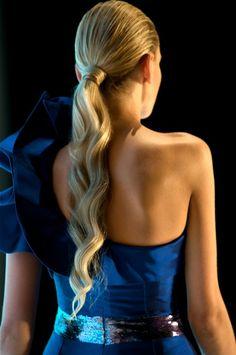 Lony deep body wave ponytail is so classy. Fancy Hairstyles, Little Girl Hairstyles, Ponytail Hairstyles, Wedding Hairstyles, Wavy Ponytail, Clip In Ponytail, Lady Lovely Locks, Aqua Hair, Hair Dos